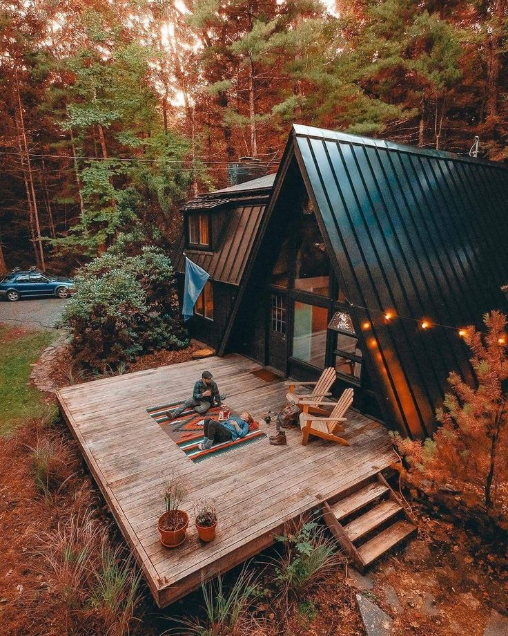 Minimalist And Modern A Frame Houses Design Ideas Gowritter House In The Woods A Frame House Cabins In The Woods