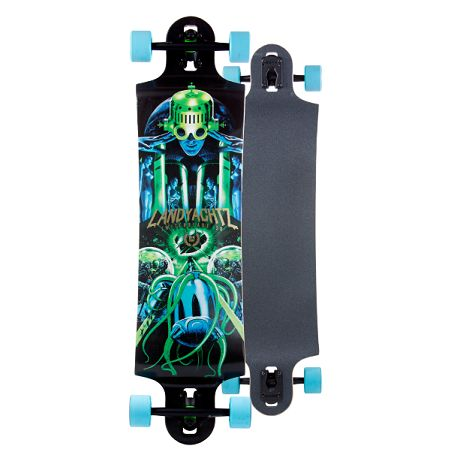 """Just released! 2015 Landyachtz Switchblade 38"""" Now with new Hollowtech construction."""