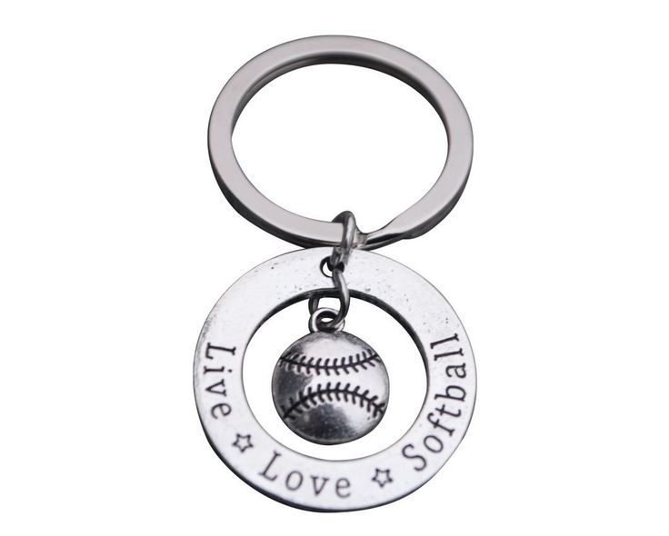This Sportybella Girls Softball keychain is a fun way to express your love of Softball. This makes a perfect gift for Softball Players, Softball Teams & Softball Coaches. Details of Keychain: SOFTBALL JEWELRY KEYCHAIN – Beautiful Softball Charm Key Chain SOFTBALL KEYCHAIN- Metal alloy charms on key ring SOFTBALL GIFT- Perfect Gift For Softball Players, Softball Teams & Softball Coaches