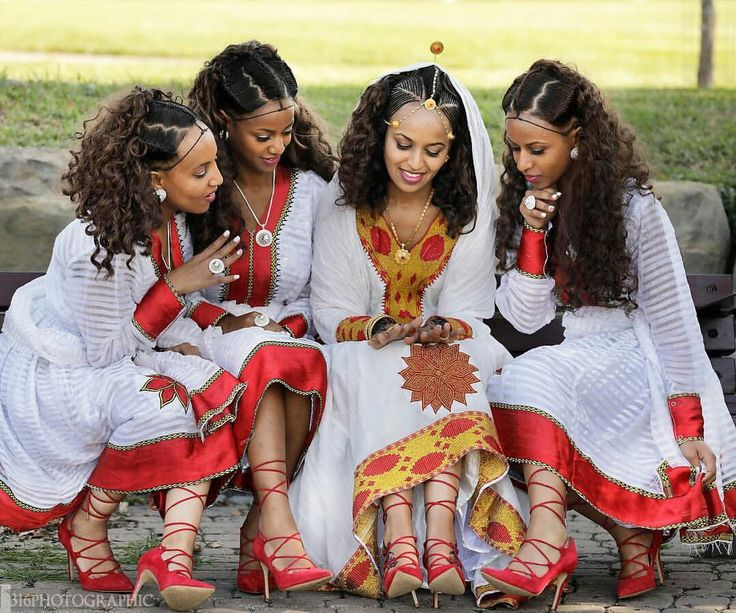 You can tell which tribe women come from just by their dresses and markings.