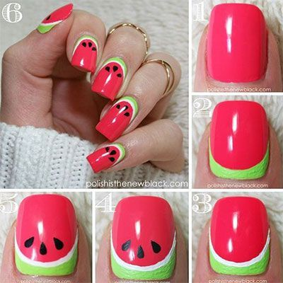 Summer Nail Art Tutorials For Beginners & Learners #Art #Beginners #Learners #Na…