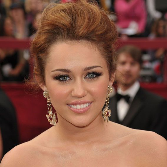 Miley Cyrus's Changing Looks - 2010 from InStyle.com