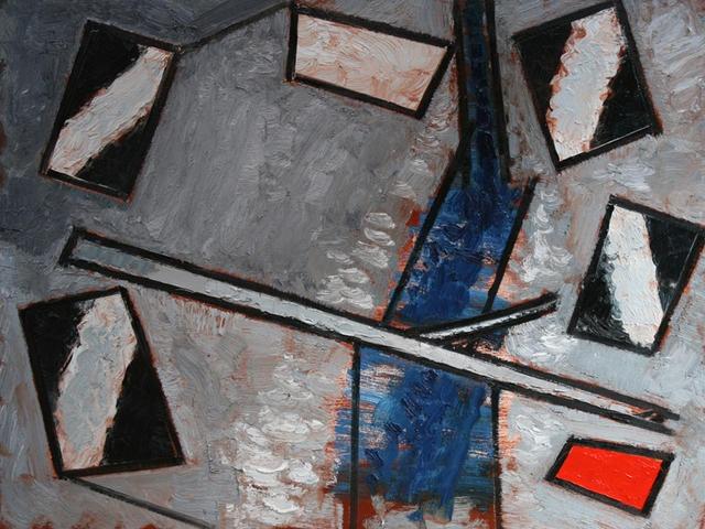 Stoner Creek, 2012, oil on canvas, 36 x 48 in. (91.44 x 121.92 cm), 3 x 4 ft. © Courtesy Corkin Gallery