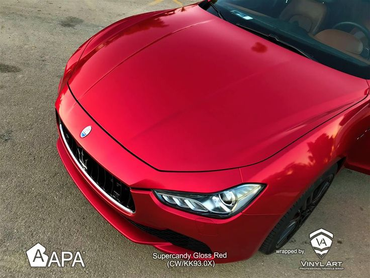 Supercandy Gloss Red (CW/KK93.0X)  #apaspa #apaamerica #apaspain #apafilms #supercandyred #supercandy #carwrapping #carwraps #apainside