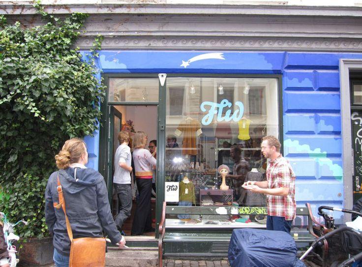 Visual identity for Vesterbro yarn shop Flid: MayK - Kristina May Olsen