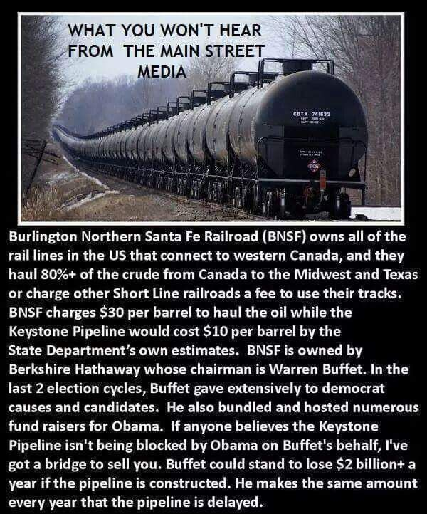 Refreshing News: Is THIS The REAL REASON Obama Rejected Keystone Pipeline