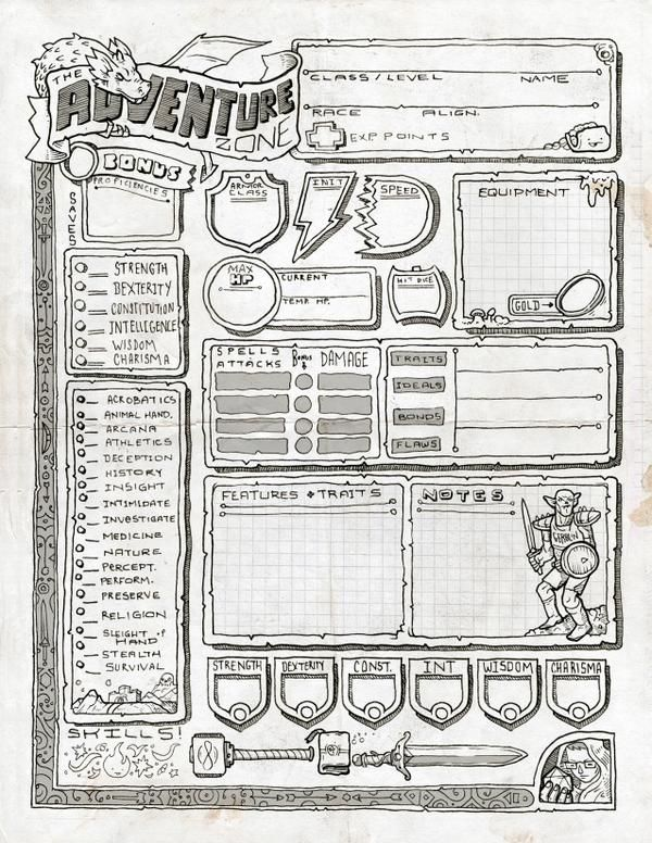character sheets creative writing Help your students develop interesting, well-rounded protagonists and antagonists with these character development sheets each sheet includes basic descriptors to.
