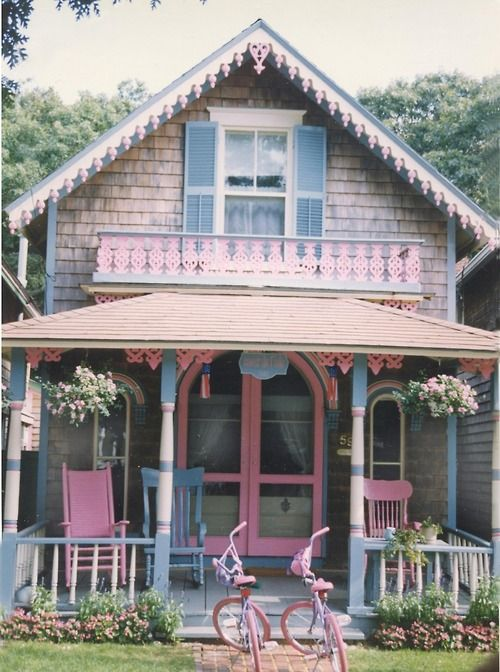 our playhouse & bikes??
