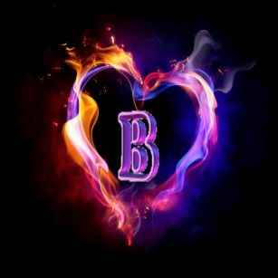 B Alphabet Wallpaper In Heart A Alphabet Wallpaper I...
