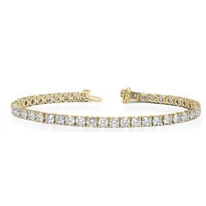 Diamant Armband aus 585er Gelbgold (10.00 Karat Diamanten)  http://www.juwelierhausabt.de/products/de/Diamant-Armband/Diamant-Armband-Gelbgold/Diamant-Armband-aus-585er-Gelbgold-1000-Karat-Diamanten1.html