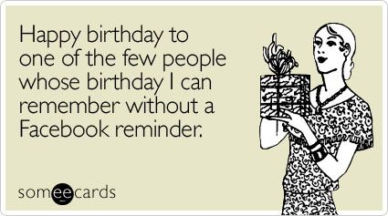 103 best ecards birthday images on pinterest birthday memes funny birthday ecard happy birthday to one of the few people bookmarktalkfo Gallery