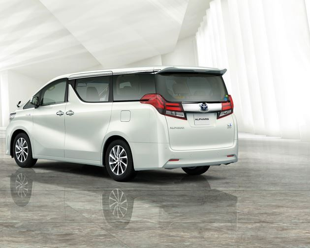 Toyota Alphard 2016 picture