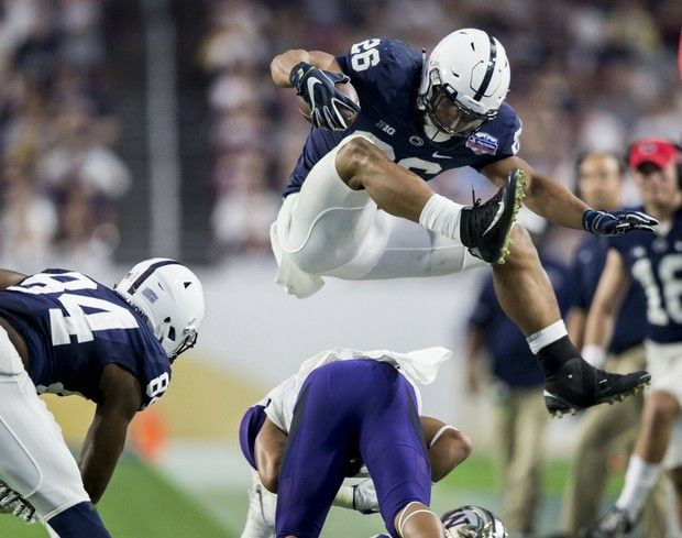 Penn State vs Washington in the Fiesta Bowl