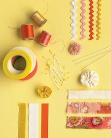 Winning ribbons you'll want to re-create: We take the sewing-basket staple and turn it into a whimsical design element.