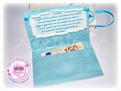 Il Blog di ManoCreativa.it: Biglietto PortaSoldi con Busta...
