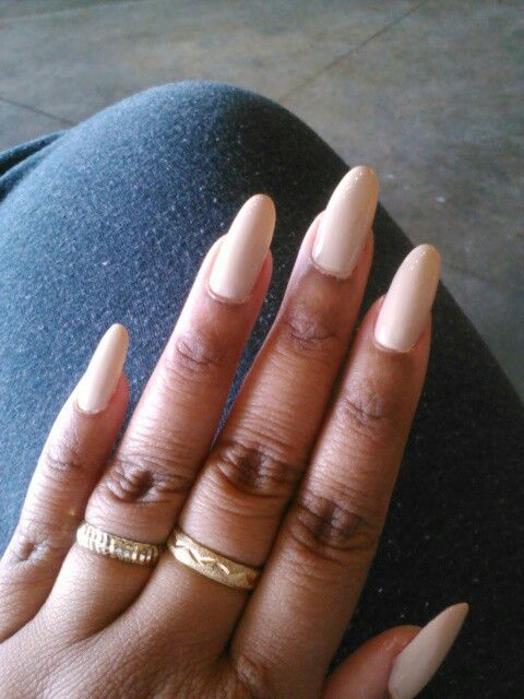 43 best Oval, coffin & stiletto nails images on Pinterest | Nail ...