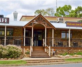 Rubyvale Gem Gallery Apartments: Sapphires, Accommodation, Cafe