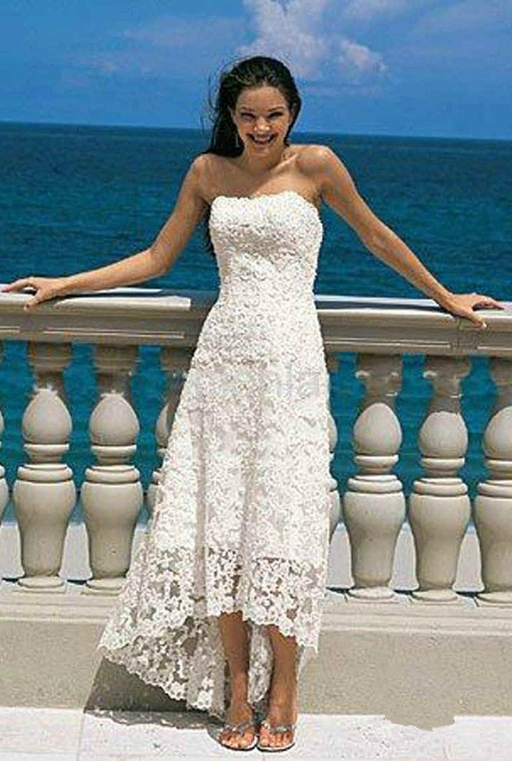 76 best Beach Wedding Dresses images on Pinterest | Hochzeitskleider ...