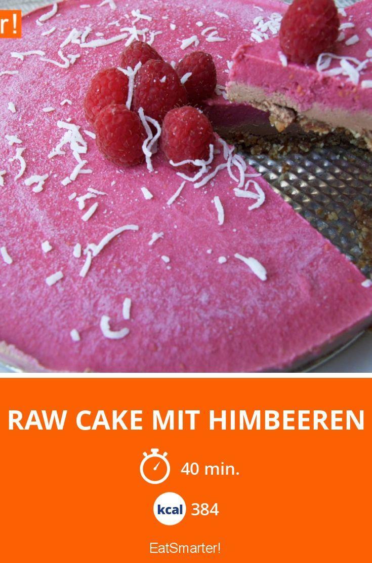 Raw Cake mit Himbeeren - smarter - Kalorien: 384 Kcal - Zeit: 40 Min. | eatsmarter.de