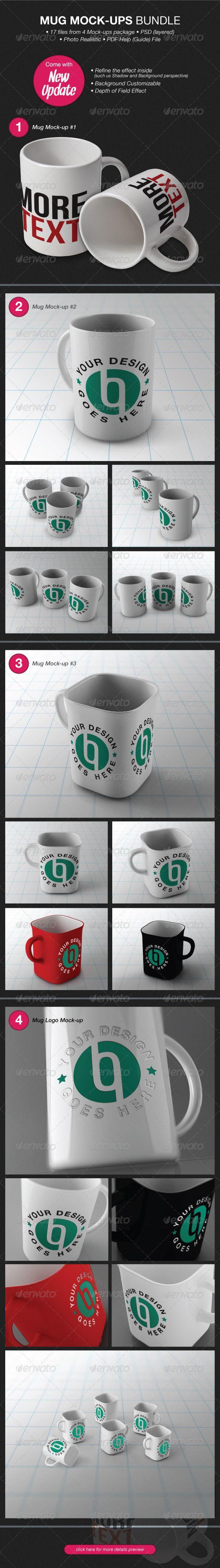 Mug Mock-Ups Bundle