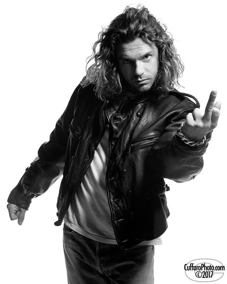 Michael Hutchence - credit Chris Cuffaro