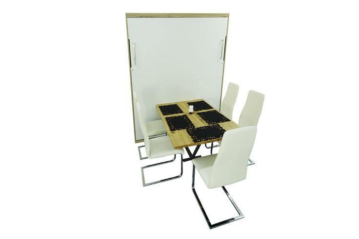 17 best ideas about wandbett on pinterest rustikales. Black Bedroom Furniture Sets. Home Design Ideas