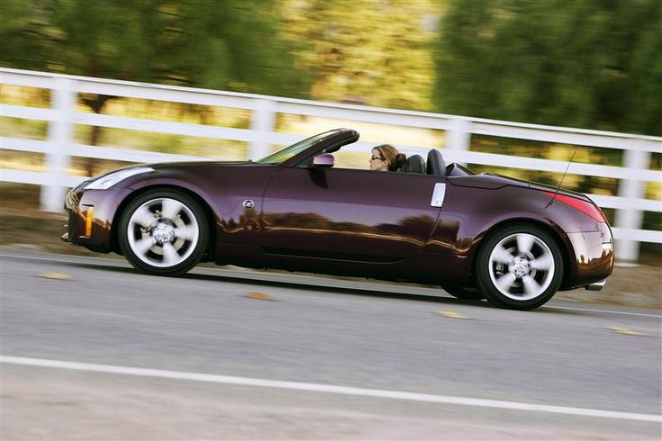 2006 Nissan 350Z Roadster. It's so beautiful, especially the color!
