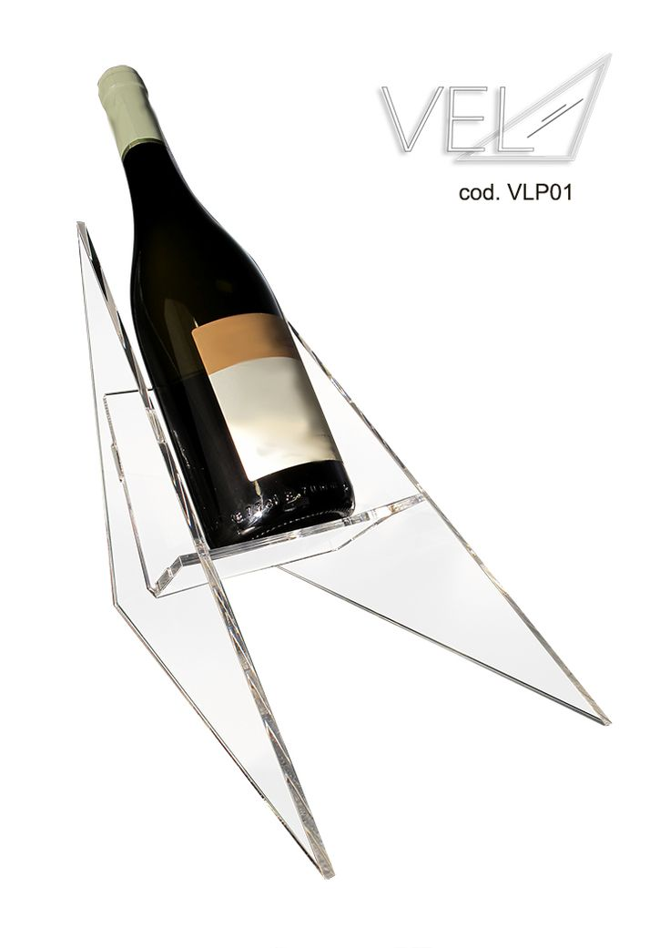 Vela (cod.VLP01) Made up of three interlocking sections, VELA enhances your bottle of prestige through a PURE formal lightness.A delicate balanced relationship makes it unique and gives your bottle the right and important value. For many info, contact me.