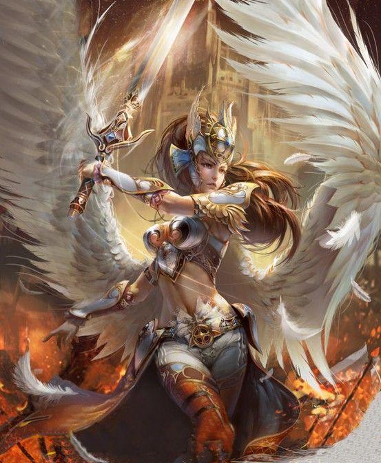 Angel increíble y difícil de editar pero si quedo