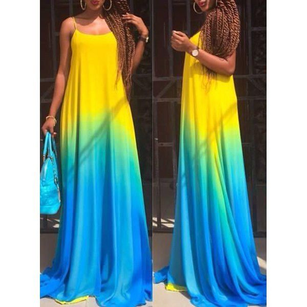 1000  ideas about Ombre Maxi Dress on Pinterest | Long summer ...