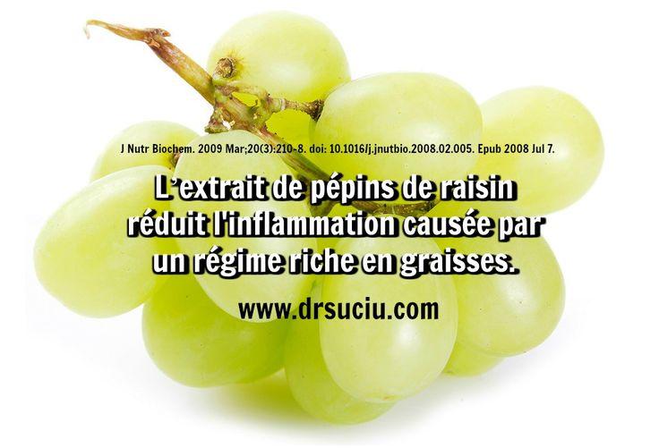 Photo L'extrait de pépins de raisin réduit l'inflammation - drsuciu