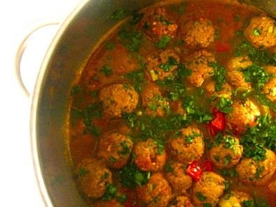 ¡Hola! Jalapeño: Spicy Moroccan Meatball Tagine Recipe