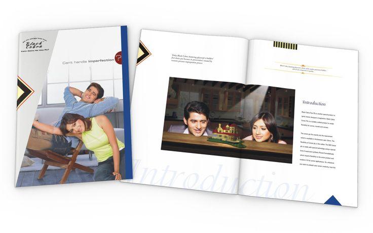 Brochure Design for BLACK COBRA PLYWOOD