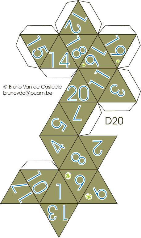 how to construct 20 sided ball pattern - Google Search