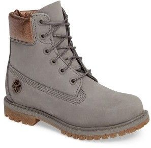 Women's Timberland 6 Inch Premium Metallic Waterproof Boot