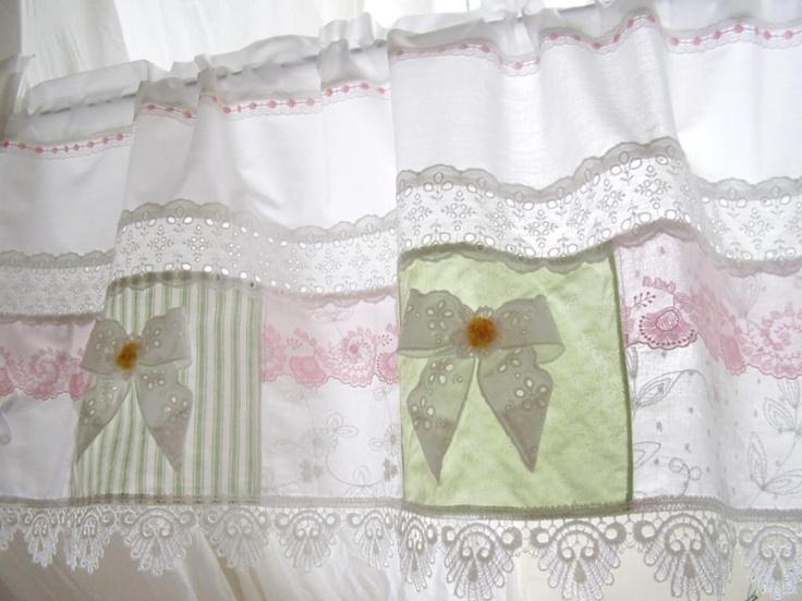 Image Detail For Shabby Chic Bistrogardine Landhaus Gardine 16 Gardinen