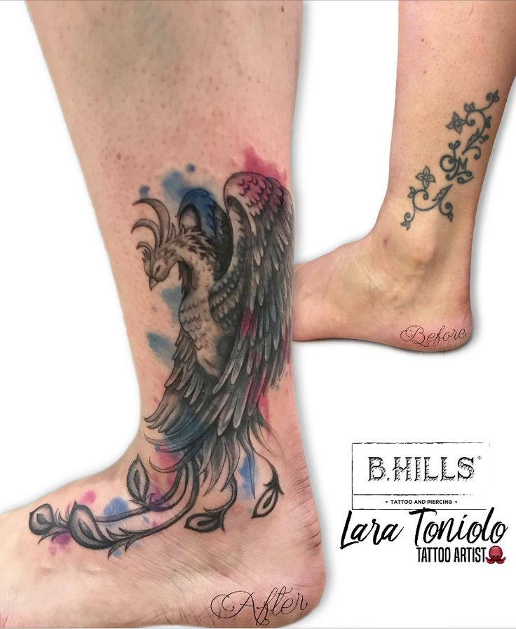 ∙ COVER UP TATTOO ∙#BHillsTattooCompany #LaraTonioloTattooArtist #LaraLadyOktopus #Tattoo #CoverUpTattoo #PhoenixTattoo #WatercolorTattoo #PhoenixWatercolor #EqualiserTattoo #WorldFamousInk #TattooDefender #Watercolor #Tattoo #Ink #WatercolorCoverUp #ColorTattooWatercolor #LegTattoo #TattooedGirl #TattooedCoverUpTattoo #InkArt #Cittadella #TatuatoriVeneto