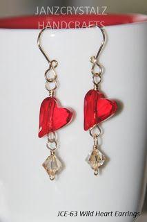 Swarovski Wild Heart Earrings