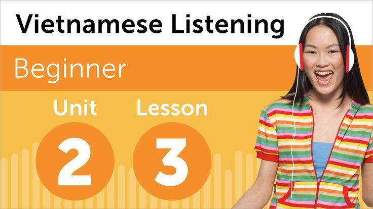 Learn even more Vietnamese at http://www.vietnamesepod101.com/index.php?cat=41 #Vietnamese #learnVietnamese #vietnamesepod101 #Vietnam