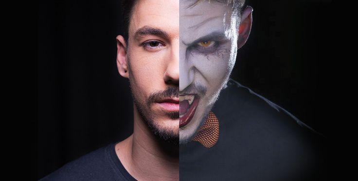 Come truccarsi ad Halloween 2015 - Cool Vampire, il vampiro dagli occhi magnetici