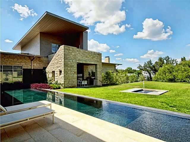 Beautiful modern home in westlake brad nelson design in for Modern home decor austin