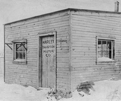 Original Harley Davidson shop