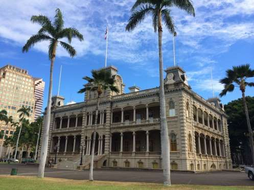 Honolulu, Oahu, Hawaii - take a break from the beach and see a different side of Honolulu through a 2½ hour architectural walking tour of Honolulu. Lead by a guide from the American Institute of Architects Honolulu, the tour provides the interesting backstory of sites including the Iolani Palace and the circa-1920 Hawaii Theatre. - Monica Lau / Getty