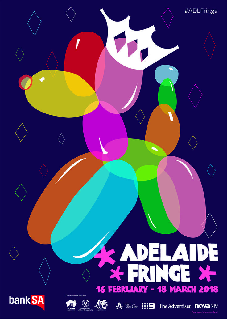 2018 Adelaide Fringe Poster