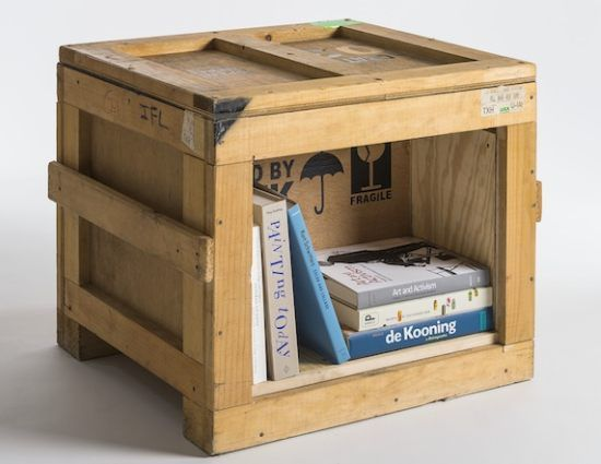 Furniture collection made from shipping crates - Home Decorating Trends