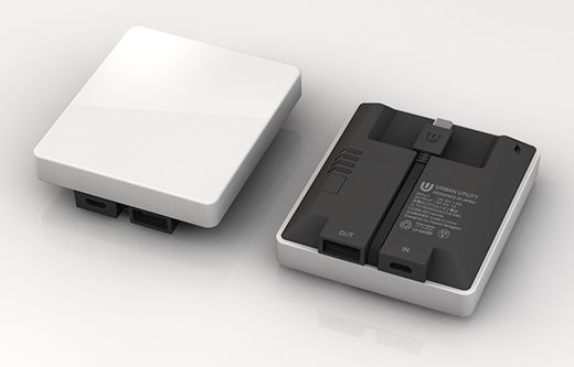 URBAN UTILITY モバイルバッテリーSQUARE (White) ¥4,762(税抜)