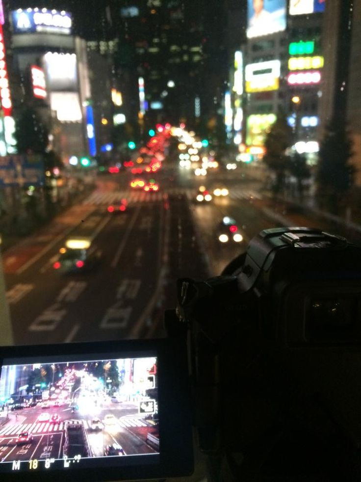 Over a bridge in #Shinjuku, #新宿, #tokyo. This #timelapse will have a lot of light trails!