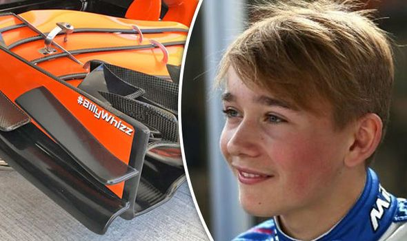 McLaren reveal touching tribute to double amputee Billy Monger for Russian Grand Prix