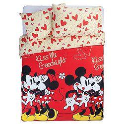 Disney Mickey and Minnie Double Duvet Set- £12.43 (Tesco)