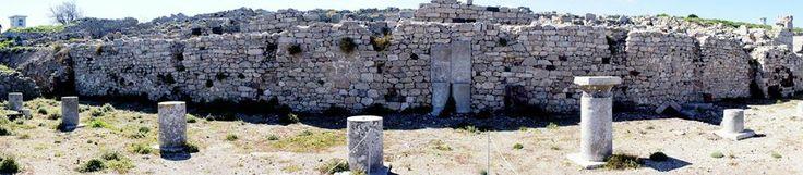Old Thira Santorini Greece